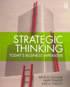 Strategic Thinking: Today's Business Imperative cover