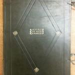 modern-day binding on 1494 Ovid