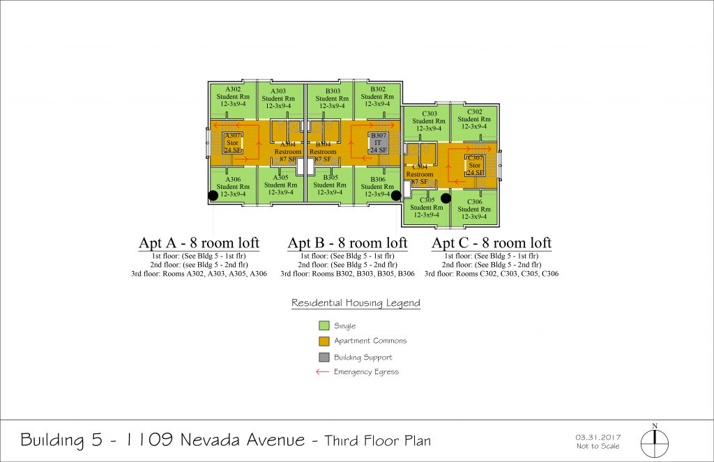 Floor Plans East Campus Housing Community