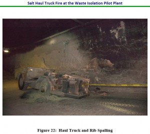 WIPP Truck Fire