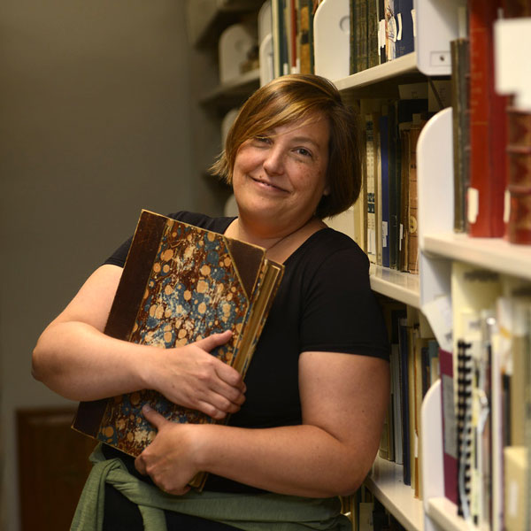 Jessy Randall, Special Collections curator and archivist
