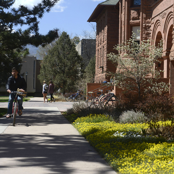 Palmer Hall on the Colorado College Campus