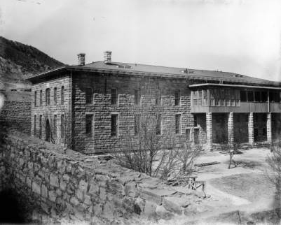 Courtesy of Denver Public Library - Western History Museum; Prison hospital